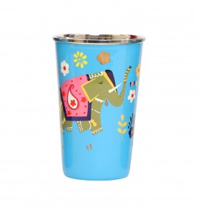 Steel Tumbler Big-ELEPHANT Star-Blue