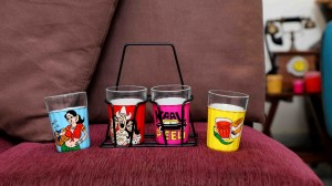 Tapri Glasses - Multicolour  [BUY A SET OF 6 & GET A SET OF 4 FREE!]