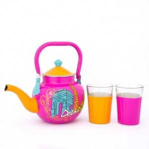 Kettle Set - Delhi Theme Pink