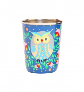 Steel Tumbler Small-Owl Eye Blue
