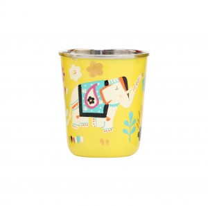Steel Tumbler Small-ELEPHANT STAR-Yellow