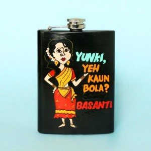 Hip Flask - Sholay Basanti