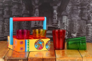 Katta Chai - Madhubani [Buy 1 Set Of 6 Get 1 Set of 4 Free]