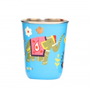 Steel Tumbler Small-ELEPHANT STAR-Blue